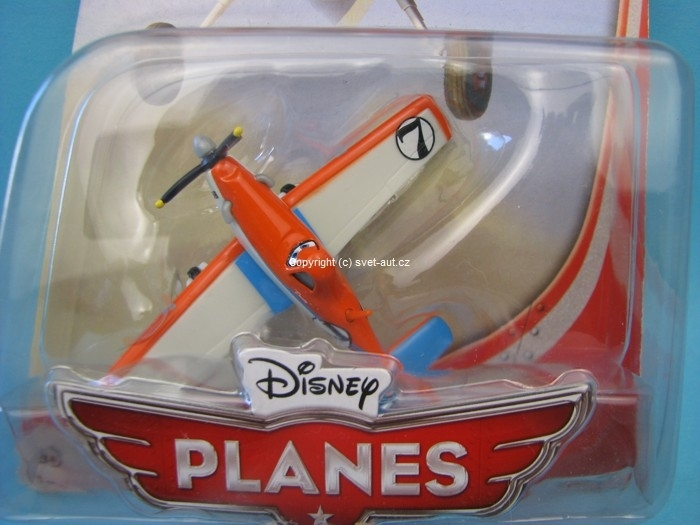 Letadlo Racing avion de course Disney Pixar Cars a Planes